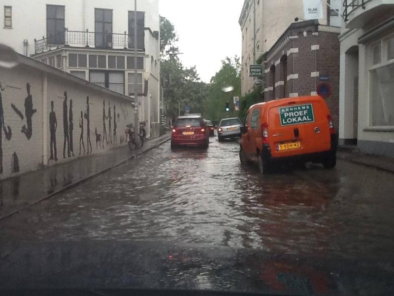 Wateroverlast Spijkerkwartier